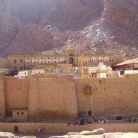 Монастырь св.Екатерины на Синае :: Марина Домосилецкая