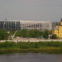 Стадион на Стрелке (Нижний Новгород) :: Павел Зюзин