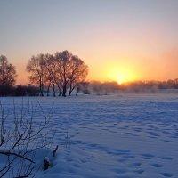 Зимний рассвет :: Дубовцев Евгений