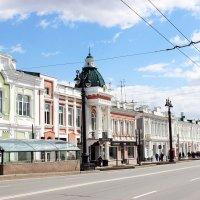 Фрагмент улицы Ленина г. Омск :: раиса Орловская