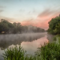 утренний туман :: юрий иванов