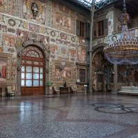 Флоренция. Вилла Медичи-Петрайя. Внутренний дворик. :: Надежда Лаптева