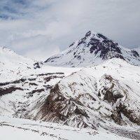 Грузия Вид на Казбек с перевала Саберце :: Вячеслав Шувалов