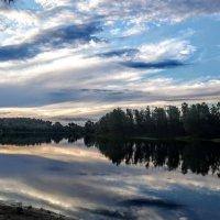 Закат на реке Десна :: Антонина Ягущина