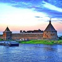 Крепость Шлиссельбург со стороны Невы :: Вячеслав Губочкин