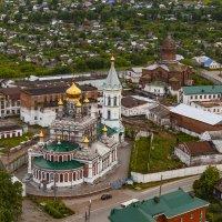 Женский монастырь с Никольской церковью. :: Максимус Кунгурский