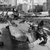 Я шагаю по Москве. :: Алексей Окунеев