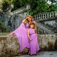 фотосессия мама с дочкой :: Оксана Богачева