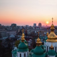 Вечерний Киев :: Анастасия Заплатина