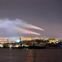 Мурманск ночью :: Роман Кудрин