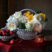 Этюд с корзиной цветов :: lady-viola2014 -