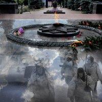Память войны хранят облака :: Виталий Бененко