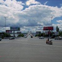На Предмостовой площади. За мостом г. Энгельс. :: Anatol Livtsov