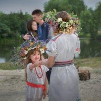 На празднике Ивана Купала :: Лидия Цапко