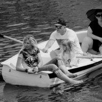 Ты плыви, наша лодка, плыви... :: Ирина Сивовол