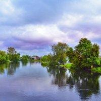 Словно сказочные были облака по небу плыли.. :: Алла Кочергина