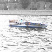 Синий кораблик :: Анна Воробьева