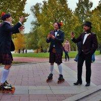Шотландские весельчаки (Особенности национальной одежды) :: Nataly St.