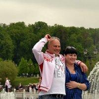 Портрет с фонтаном :: Владимир Болдырев
