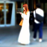 Девушка со станции Роппонги :: Tatiana Belyatskaya