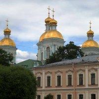 Купола Никольского собора. :: Марина Харченкова