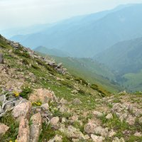на вершине горы :: Горный турист Иван Иванов