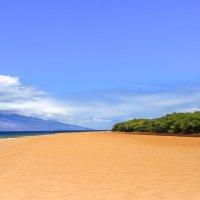 Песчаный пляж на Ланаи, Гавайи :: Ольга Петруша
