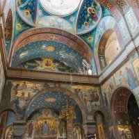 Настенная роспись Пантелеймоновского собора. :: Виктор Евстратов