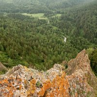 В долине реки Базаиха :: Сергей Герасимов