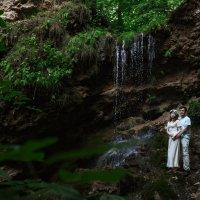 Предсвадебная съемка на водопаде в Чувашии :: Мария Корнилова
