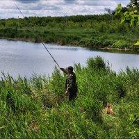 На рыбалке. :: Anatol Livtsov