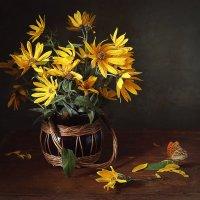Желтые цветочки :: Татьяна Карачкова