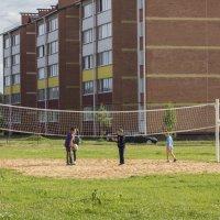 Дворовый волейбол :: Вера Аксёнова