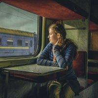 Девушка в поезде :: kojirou