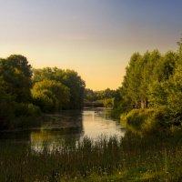 Провинциальный летний вечер :: Владимир Макаров