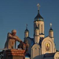 Построить храм - большое дело... :: Александр Попов