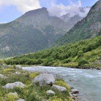 вдоль реки Танандон, Дигория :: Мария Климова