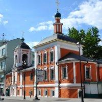 Церковь святителя Николая Чудотворца на Маросейке . 1657 год :: Анатолий Колосов
