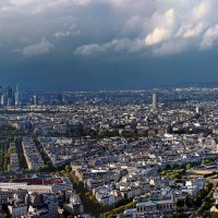 Париж с башни Монпарнас. :: Виталий Авакян