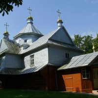Греко - католический   храм  в   Отыние :: Андрей  Васильевич Коляскин