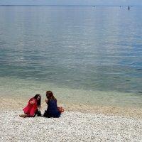 Селфи с морем... :: emaslenova