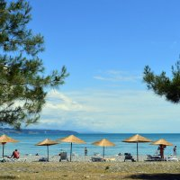 Море, Пицунда :: Роман Небоян