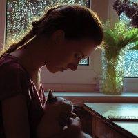 У окна :: Вера Сафонова