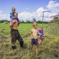 Счастливый отец ! :: Ирина Антоновна