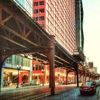 Чикагский дождь. :: Gene Brumer