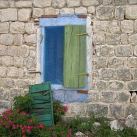 Старое окно :: Анна Воробьева