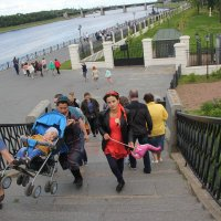 Крутая лестница :: Александр Алексеев