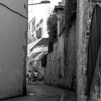 улица в Sant Andreu de Llavaneres . Испания :: sergio tachini