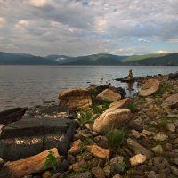 На Байкале тёплым утром... :: Александр Попов