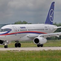 Sukhoi Superjet 100 :: Алексей Михалев